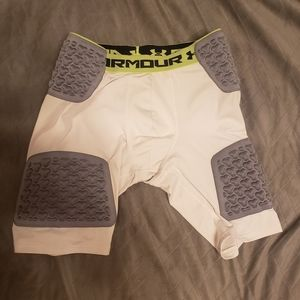 Mens Under Armour compression padded shorts